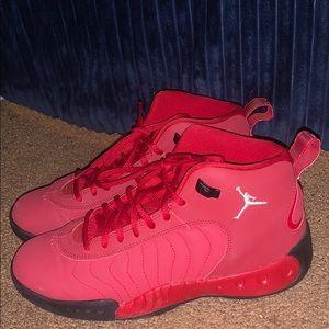 red Jordan jumpmans